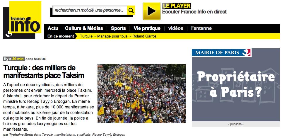 Site de France Info