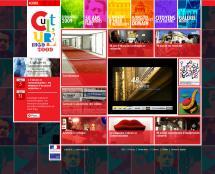 Site jubileum du Ministère de la culture